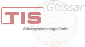 TIS Wälzkörpertechnonolgie Glossar deutsche Version